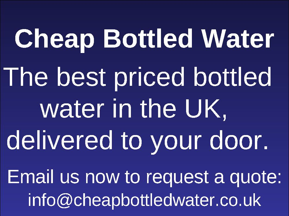 Cheap Bottled Water UK